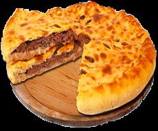 Осетинский пирог с красной рыбой